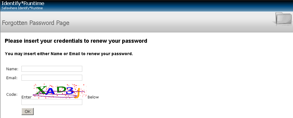 username and password 4