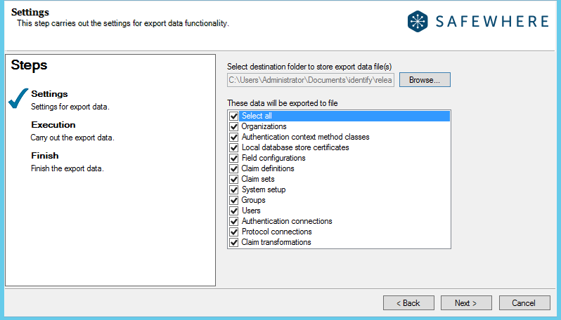 identify-export-tenant55-data-selection