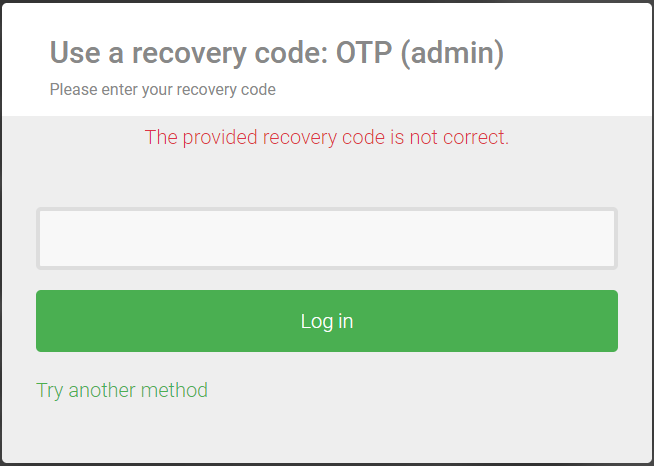 recovery-code-incorrect