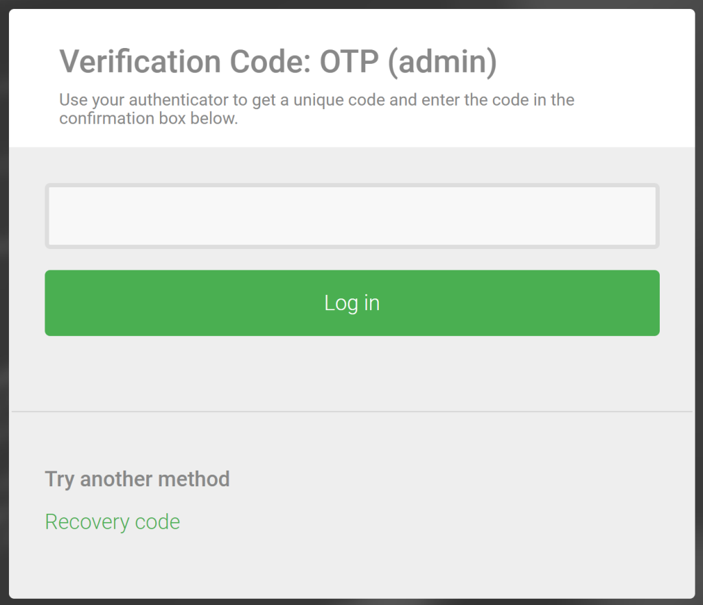 recovery-code-option